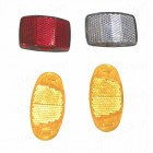 Светоотражатели (световозвращатели) для велосипеда (комплект)