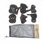 Защита AMZ 080  (комплект)  для роликовых коньков, скейтбордов, самокатов
