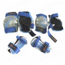 Защита  AMZ-250  (комплект)  для роликовых коньков, скейтбордов, самокатов